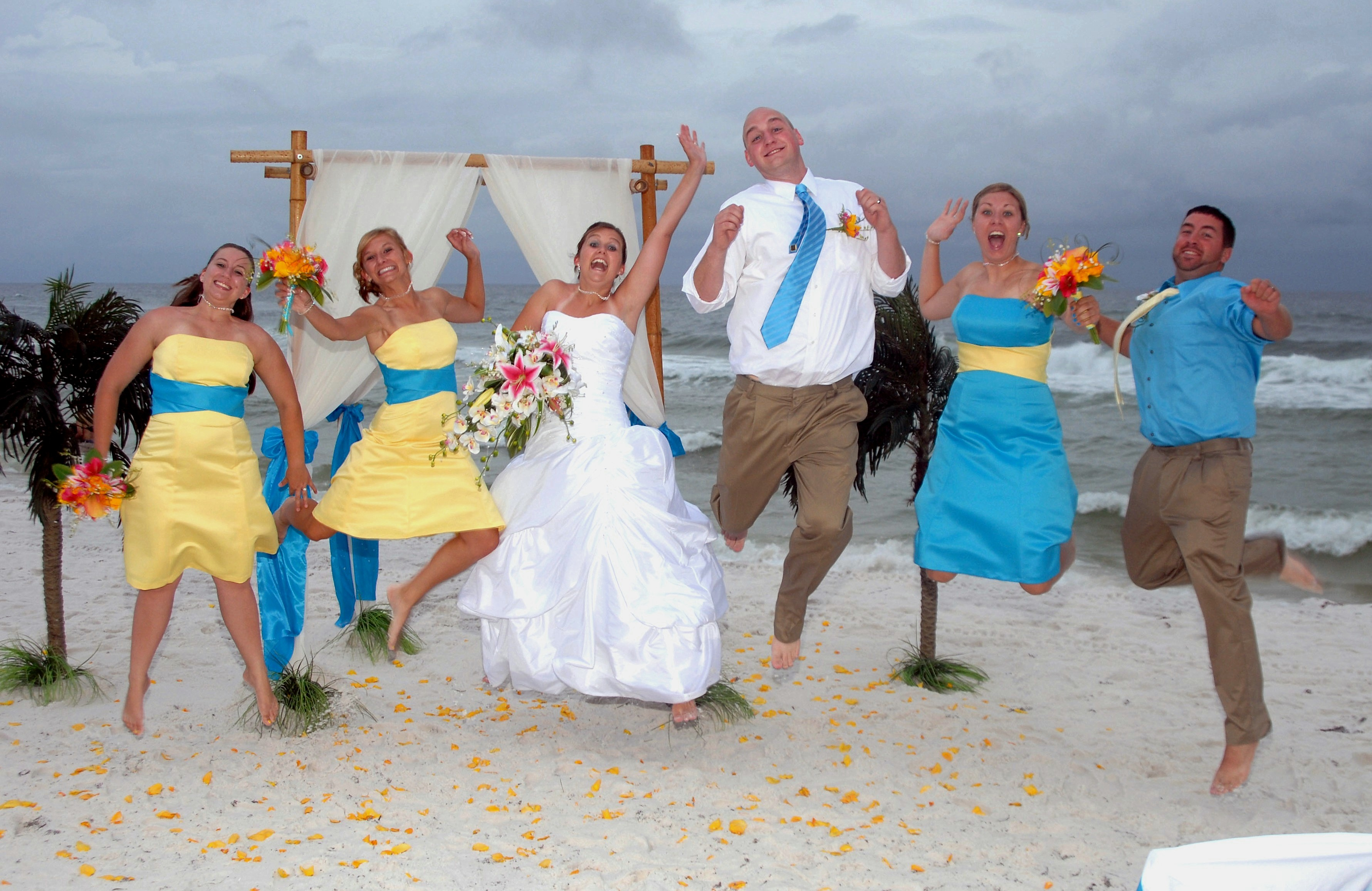 Florida Barefoot Beach Weddings Destin Fort Walton Beach