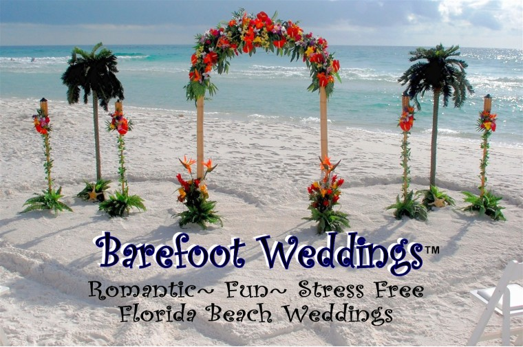 Destin Beach Weddings/ Okaloosa Island Beach Wedding/ Navarre Beach Weddings