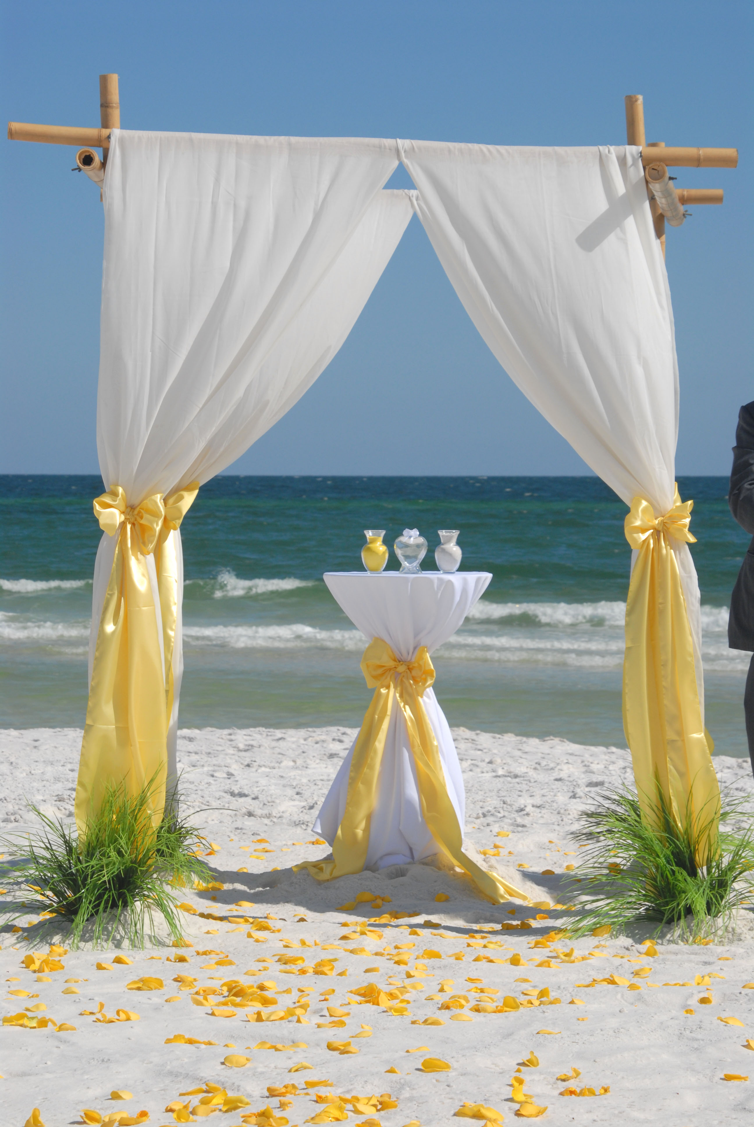 florida barefoot bamboo arbor beach wedding packages. Black Bedroom Furniture Sets. Home Design Ideas