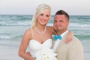 Destin barefoot beach wedding
