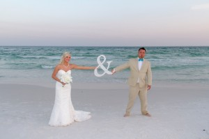 barefoot destin beach wedding