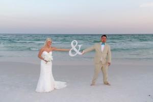 barefoot destin beach wedding