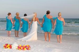 beachside bride