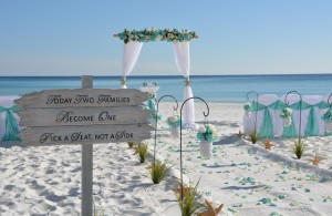 Okaloosa Island beach weddings