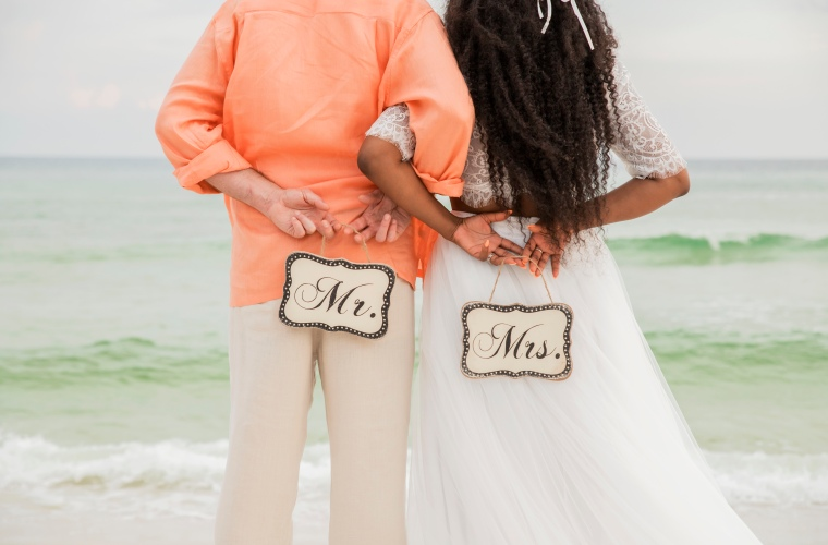 Destin Florida Simple Barefoot Beach Weddings, Elopements & Vow Renewals